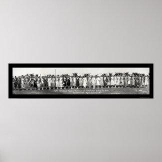 Baño de la foto 1930 del desfile impresiones