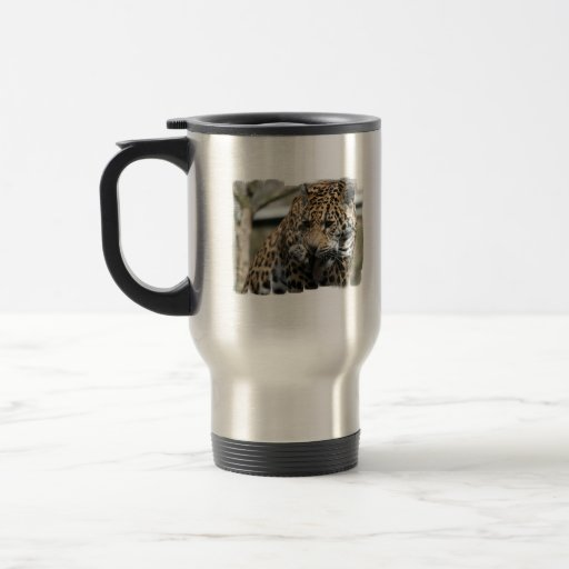Baño de la taza del viaje del leopardo