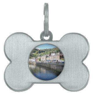 Baño de Matlock en Derbyshire Placa De Nombre De Mascota