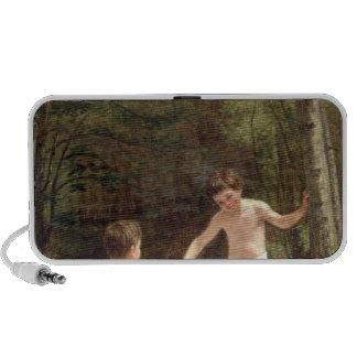 Baño de muchachos, 1873 iPod altavoz