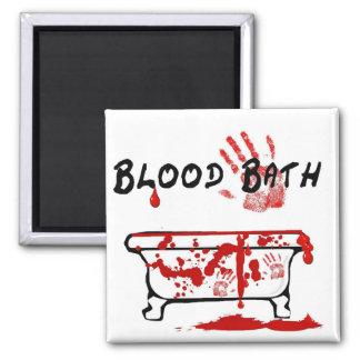 Baño de sangre imán de frigorifico