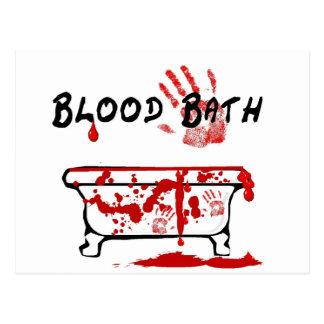 Baño de sangre postal