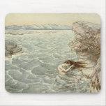 Baño del mar alfombrillas de raton