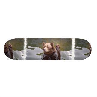 """Baño del monopatín del oso de Brown Patineta 7 7/8"""""""