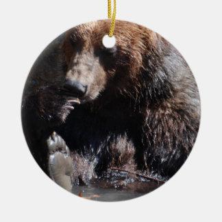 Baño del oso adorno para reyes