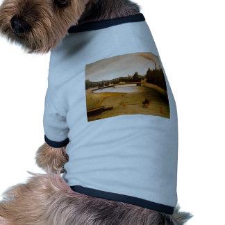 Baño en Alfortville de Henri Rousseau Camiseta De Perrito