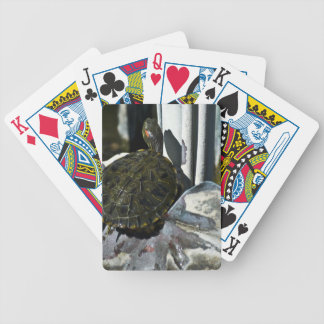 Baño en arte cartas de juego