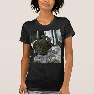 Baño en arte camiseta