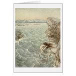Baño en el mar felicitaciones