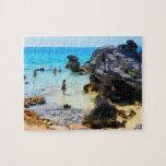 Baño en el océano San Jorge Bermudas Rompecabeza