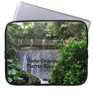 Bano Grande Puerto Rico Laptop Sleeve