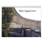 Baño, Inglaterra, 2011 Calendario