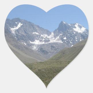 Bano Morales at el Morado Image Heart Sticker