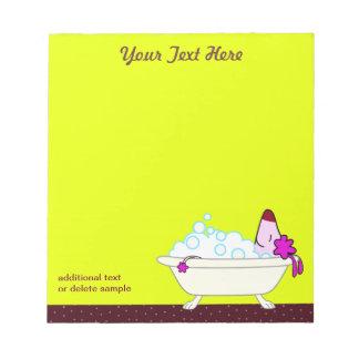 Baño para los Groomers del mascota - amarillo del  Bloc