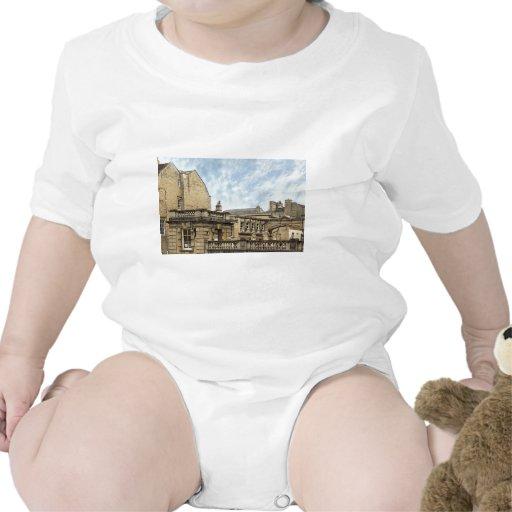 baño romano de los baños trajes de bebé