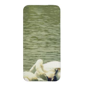 Baño sincronizado del cisne funda para iPhone 5