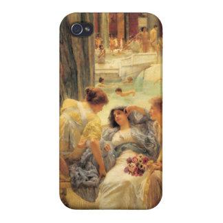 Baños de Caracalla de Lawrence Alma-Tadema iPhone 4 Protectores