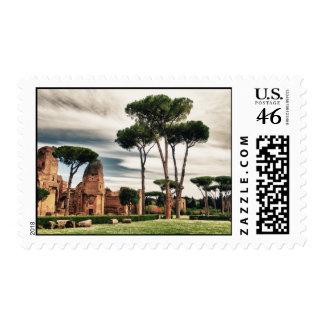 Baños de Caracalla - el franqueo de Roma