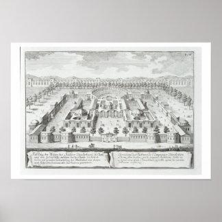 Baños de Diocletian (ANUNCIO 302), Roma, de 'Entwu Posters