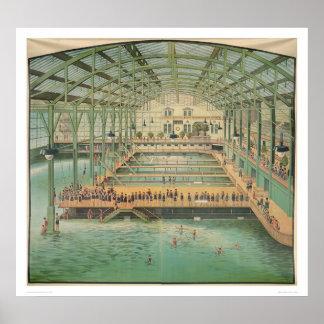 Baños de Sutro (1210) Posters
