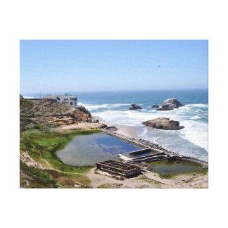 Baños de Sutro, San Francisco CA Impresión En Tela