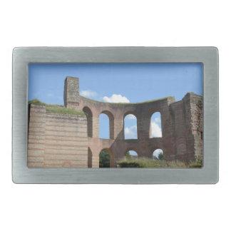 Baños romanos imperiales hebillas cinturón rectangulares