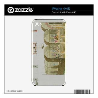 Baños romanos, placa 'de la historia de la nación iPhone 4 skins