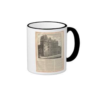Baños turcos y romanos de la avenida de Lexington Tazas De Café