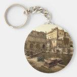 Baños y abadía romanos, baño, foto de la obra clás llaveros personalizados