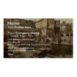 Baños y abadía romanos, baño, foto de la obra clás plantillas de tarjetas personales