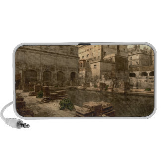 Baños y abadía romanos I, baño, Somerset, Inglater Mini Altavoz