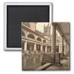 Baños y abadía romanos III, baño, Somerset, Inglat Imán De Frigorifico