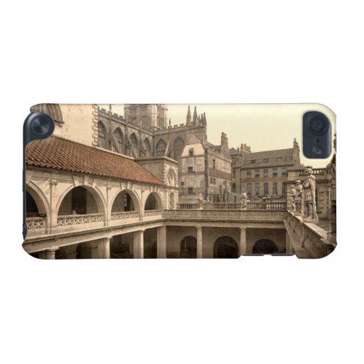 Baños y abadía romanos, IV, baño, Inglaterra Funda Para iPod Touch 5G