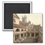 Baños y abadía romanos IV, baño, Somerset, Inglate Imán Para Frigorifico