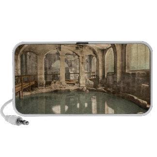 Baños y abadía romanos V, baño, Somerset, Inglater Portátil Altavoces