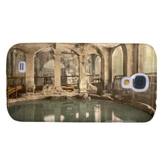 Baños y abadía romanos V, baño, Somerset, Inglater Funda Para Galaxy S4