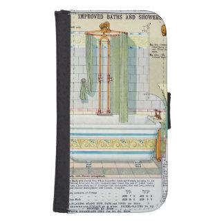 Baños y duchas mejorados de un catálogo del san billetera para galaxy s4