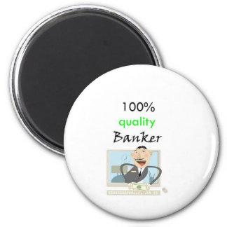 banquero 100% de la calidad imán de frigorífico