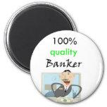 banquero 100% de la calidad imán para frigorífico