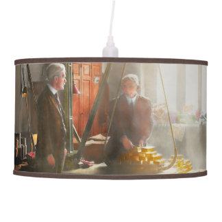 Banquero - digno de su peso en oro lámpara de techo