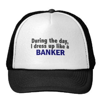 Banquero durante el día gorras de camionero