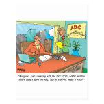 Banquero/financiero/agente de bolsa tarjetas postales