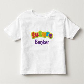 Banquero (futuro) para el niño playera de niño