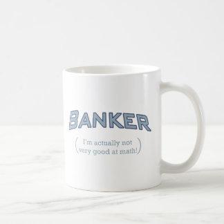 Banquero - matemáticas taza clásica