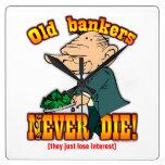 Banqueros Reloj De Pared