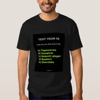 Banqueros y camiseta de la peste bubónica playeras