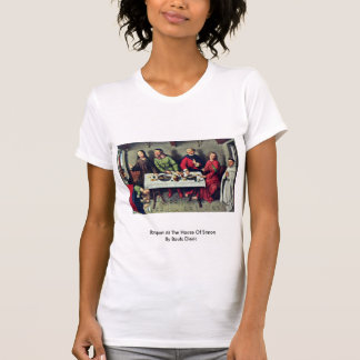 Banquet At The House Of Simon By Bouts Dieric T-shirts