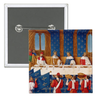 Banquet given by Charles V Pinback Buttons