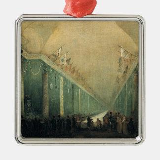 Banquet Given for Napoleon Bonaparte Metal Ornament