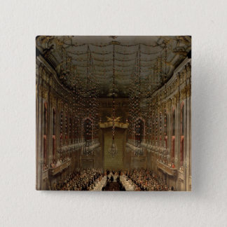 Banquet in the Redoutensaal, Vienna, 1760 Button